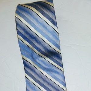 Murano Necktie 100% Silk Striped Mens Tie